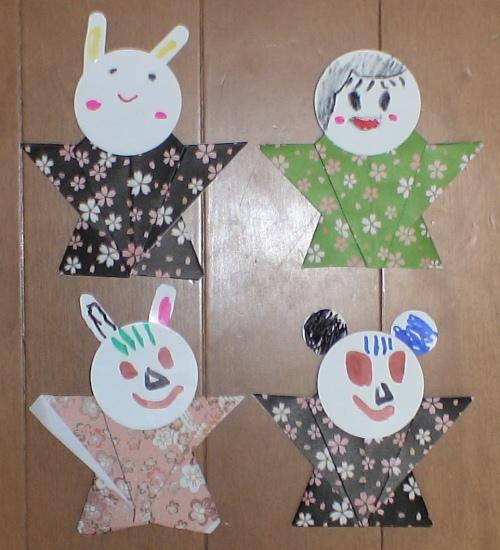 裃指人形@東京おもちゃ美術館